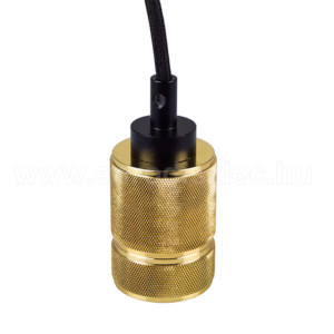Ανάρτηση Χρυσό Αλουμίνιο Καλώδιο Κρεμαστό Φωτιστικό 1Φ V-TAC 3811