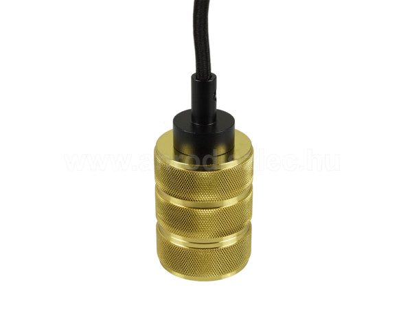 Ανάρτηση Χρυσό Αλουμίνιο Καλώδιο Κρεμαστό Φωτιστικό 1Φ V-TAC 3812