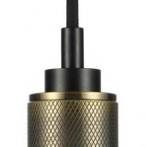 Ανάρτηση Μπρονζέ Αλουμίνιο Καλώδιο Κρεμαστό Φωτιστικό 1Φ V-TAC 3813