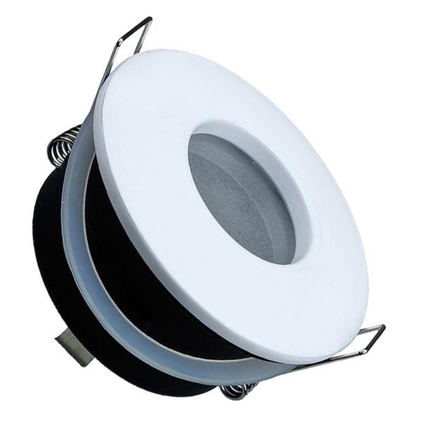 Σποτ Χωνευτό V-Tac 3613 για GU10 και MR16 Στρογγυλό Λευκό IP 54 με Γυαλί Ματ