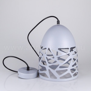 Κρεμαστό Φωτιστικό 1Φ Μεταλλικό Ματ Γκρί V-TAC 3822