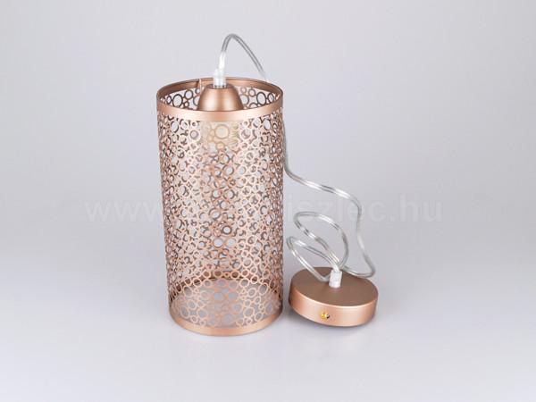Κρεμαστό Φωτιστικό 1Φ Μεταλλικό Σαμπανιζέ Χρυσό V-TAC 3824