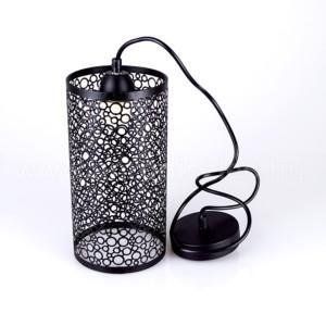Κρεμαστό Φωτιστικό 1Φ Μεταλλικό Ματ Μαύρο V-TAC 3825