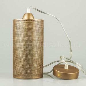 Κρεμαστό Φωτιστικό 1Φ Μεταλλικό Σαμπανιζέ Χρυσό V-TAC 3827
