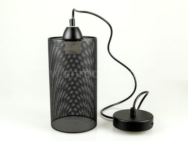 Κρεμαστό Φωτιστικό 1Φ Μεταλλικό Ματ Μαύρο V-TAC 3828