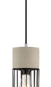 Κρεμαστό Φωτιστικό 1Φ Πλέγμα Σιδερένιο + Τσιμέντο V-TAC 3847