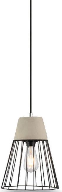 Κρεμαστό Φωτιστικό 1Φ Πλέγμα Σιδερένιο + Τσιμέντο V-TAC 3848