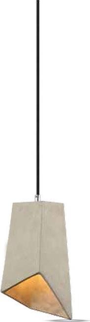 Κρεμαστό Φωτιστικό 1Φ Τσιμεντένιο V-TAC 3850