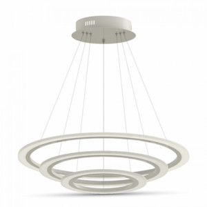Τριπλός Πολυέλαιος με 3 Ρυθμιζόμενους Δακτυλίους LED 70W 3000K-Θερμό Λευκό   V-TAC 3873