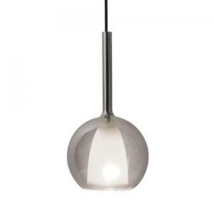 Κρεμαστό Φωτιστικό 1Φ Διπλό Γυαλί (Γκρί+Λευκό) V-TAC 3876
