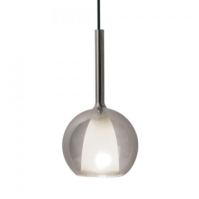 Κρεμαστό Φωτιστικό 1Φ Διπλό Γυαλί (Γκρί+Λευκό) V-TAC 3877