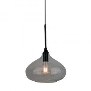 Κρεμαστό Φωτιστικό 1Φ Μαύρο Γυαλί V-TAC 3885