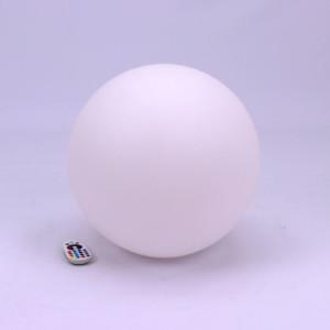Φωτιστικό Μπάλα LED RGB 3W IP54 Επαναφορτιζόμενο Μπαταρίας Λιθίου V-TAC 40201