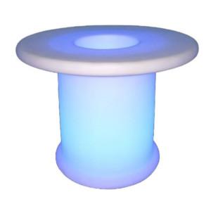 Φωτιστικό Τραπεζάκι LED RGB 3W IP54 Επαναφορτιζόμενο Μπαταρίας Λιθίου V-TAC 40251