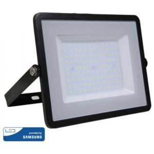 Προβολέας LED 100W Samsung Chip 4000K-Ουδέτερο Λευκό V-TAC 413 Μαύρος