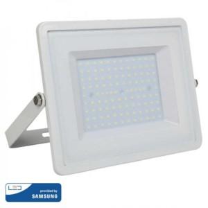 Προβολέας LED 100W Samsung Chip 3000K-Θερμό Λευκό V-TAC 415 Λευκός