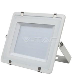 Προβολέας Αδιάβροχος Λευκό Σώμα LED 200W Samsung Chip 6400K-Ψυχρό Λευκό V-TAC 421