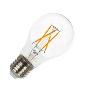 Λάμπα LED Filament Νήματος Vintage Κοινή Α60 4W Θερμό Λευκό 2700K V-Tac 42591