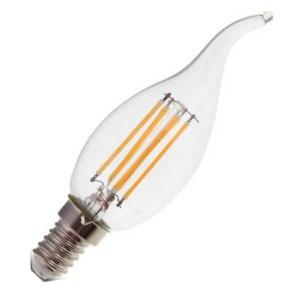 Λάμπα Κερί Ακίδα Led 4W 2700K Θερμό Λευκό E14