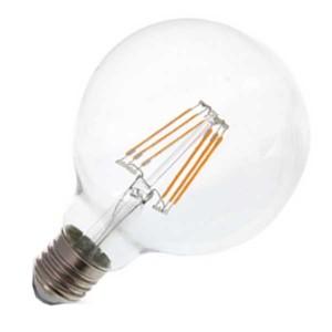 Λάμπα Globe Led 6W 2700K Θερμό Λευκό G95 E27