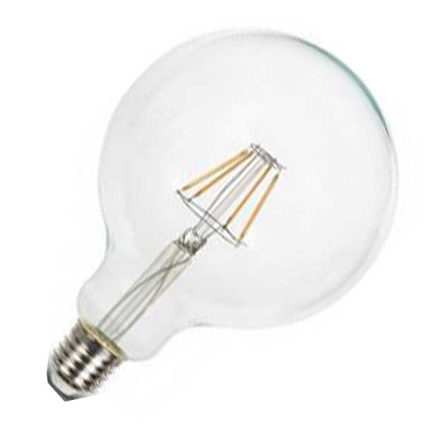 Λάμπα Globe Led 10W 6400K Ψυχρό Λευκό G125 E27