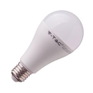 LED Λάμπα με 1350 lumens 15W E27 A65 θερμό λευκό 3000Κ V-Tac 4453