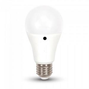 Λάμπα Sensor Led 9W 2700K Θερμό Λευκό A60 E27