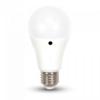 Λάμπα Sensor Led 9W 6400K Ψυχρό Λευκό A60 E27