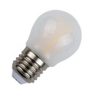 Λάμπα Σφαιρική Led 4W 2700K Θερμό Λευκό G45 E27