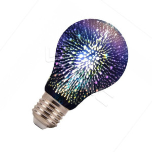 255045661-471-3D Filament-A60-E27 2704 V-Tac 3W 3000K Θερμό Λευκό