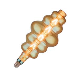 Amber Special Lamp S180-E27 8W 45661 V-Tac Πολύ Θερμό 2200Κ
