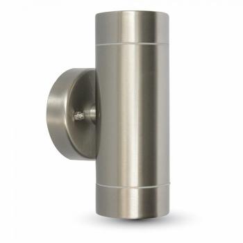 Φωτιστικό Σποτ 2xGU10 Ανοξείδωτο Ατσάλι Χρώμιο V-TAC 4793
