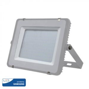 Προβολέας LED 150W Samsung Chip 3000K-Θερμό Λευκό V-TAC 481 Γκρι