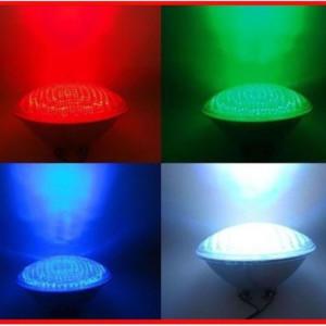Λάμπα LED PAR56 20W 12ΑC IP68 RGB