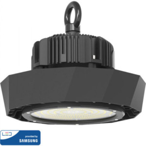 ΚΑΜΠΑΝΑ LED 100W 18000lms SMD ΤΡΟΦΟΔΟΤΙΚΟ SAMSUNG CHIP & MEANWELL 6400K 120° IP65 V-TAC 567