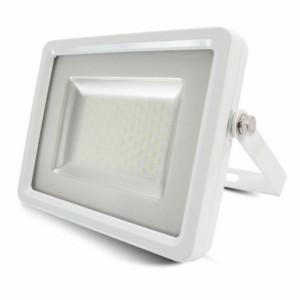 Προβολέας LED 100W Slim 6000K-Ψυχρό Λευκό SMD V-TAC 5687 Λευκός