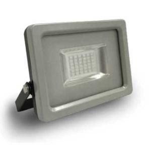 Προβολέας LED 20W Slim Μπλε Χρώμα SMD V-TAC 5719 Γκρί