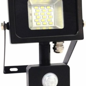 Προβολέας LED 10W Sensor SMD 4500K-Ουδέτερο Λευκό V-TAC 5724 Μαύρος