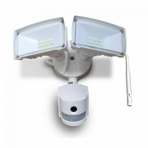 Προβολέας LED 18W WiFi Με Sensor Κάμερα 6000K-Ψυχρό Λευκό V-TAC 5745 Λευκός