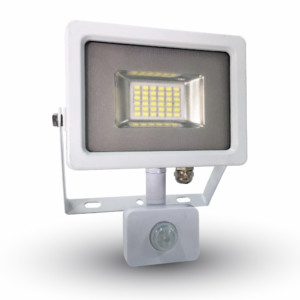 Προβολέας LED 20W Sensor 6000K-Ψυχρό Λευκό SMD V-TAC 5750 Λευκός-Γκρί