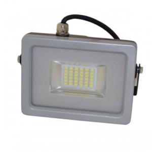 Προβολέας LED 20W Slim Πράσινο Χρώμα SMD V-TAC 5760 Γκρί