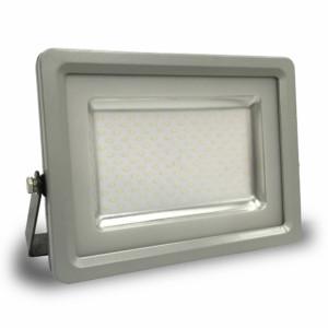 Προβολέας LED 100W Slim 4500K-Ουδέτερο Λευκό SMD V-TAC 5766 Γκρί