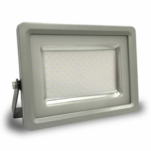 Προβολέας LED 100W Slim 6000K-Ψυχρό Λευκό SMD V-TAC 5767 Γκρί