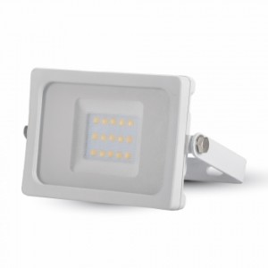 Προβολέας LED 10W 3000K-Θερμό Λευκό Slim SMD V-TAC 5771 IP65 Λευκός