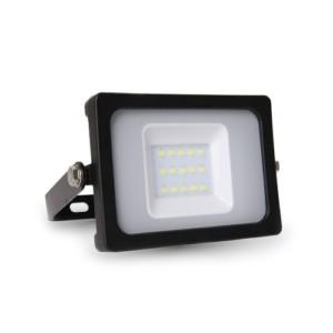Προβολέας LED 10W 3000K-Θερμό Λευκό Slim SMD V-TAC 5777 IP65 Μαύρος