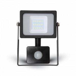 Προβολέας LED 10W Sensor SMD 4000K-Ουδέτερο Λευκό V-TAC 5784 Μαύρος