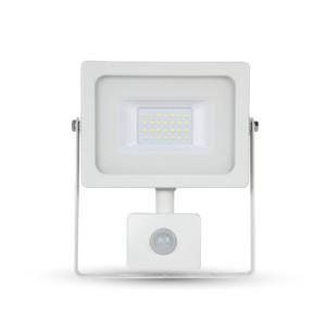 Προβολέας LED 10W Sensor SMD 3000K-Θερμό Λευκό V-TAC 5786 Λευκός