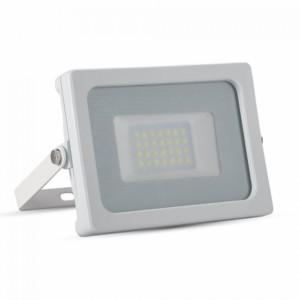 Προβολέας LED 20W Slim SMD 3000K-Θερμό Λευκό V-TAC 5789 Λευκός