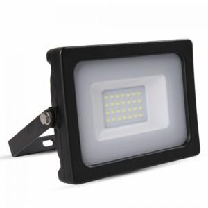 Προβολέας LED 20W Slim SMD 6400K-Ψυχρό Λευκό V-TAC 5797 Μαύρος