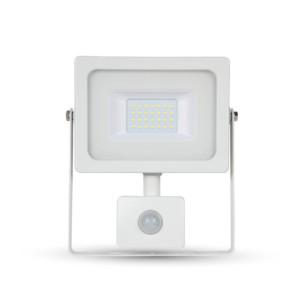 Προβολέας LED 20W Sensor 4000K-Ουδέτερο Λευκό SMD V-TAC 5805 Λευκός
